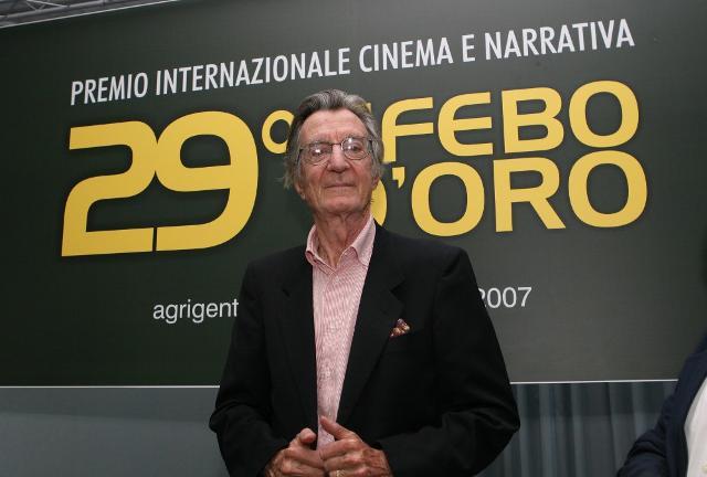 Il regista Carlo Lizzani, premiato con l'Efebo d'Oro nel 2007