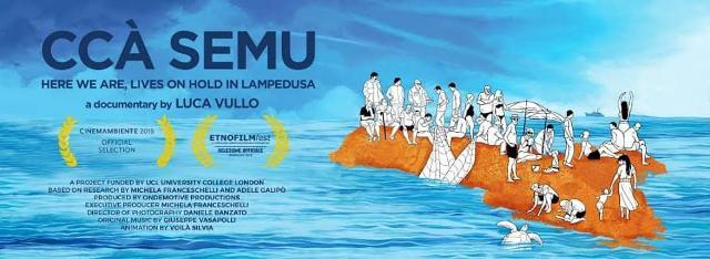 """""""CCÀ SEMU"""", un documentario di Luca Vullo"""