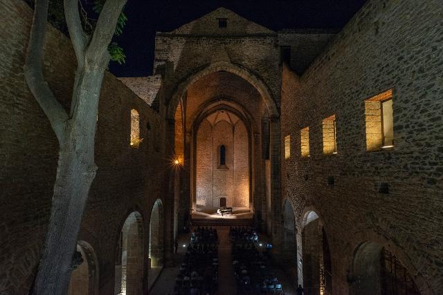 La  Chiesa di Santa Maria dello Spasimo sarà uno dei palcoscenici di Piano City Palermo