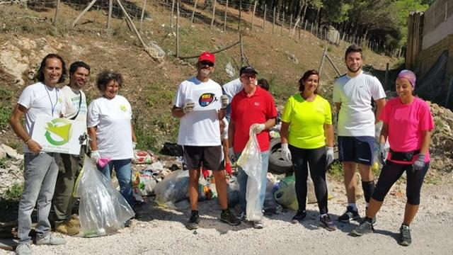World CleanUp Day 2018 a Montelepre (PA)