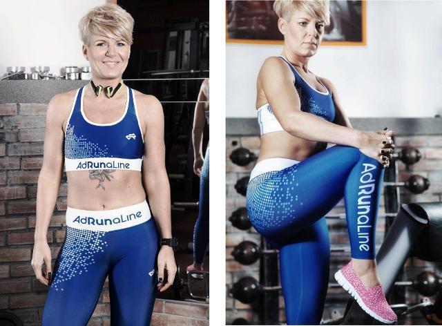 Daga Szolc, atleta trentacinquenne polacca di Varsavia