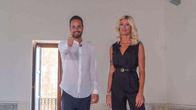 Damiano Gallo e Marina Graziani