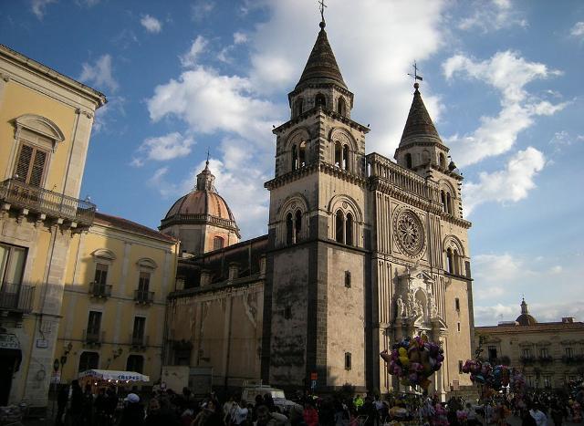 Il Duomo di Acireale dedicato a Maria Santissima Annunziata - ph Leandro Neumann Ciuffo