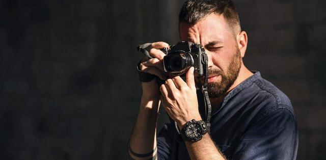 Il fotografo Francesco Pistilli,  vincitore del terzo premio World Press Photo 2018 per la categoria General News