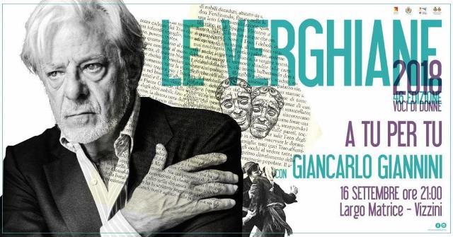 Le Verghiane 2018, gran finale con Giancarlo Giannini