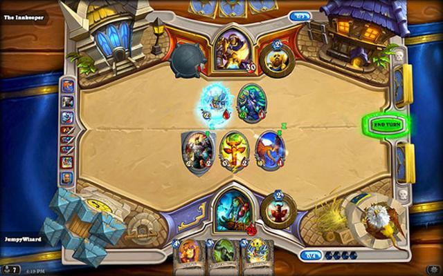Il videogioco di carte collezionabili Hearthstone