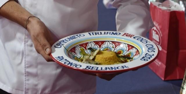 """""""Quel che resta dell'estate"""", la ricetta, vincitrice del Campionato italiano BiaCousCous, dello chef Antonio Bellanca"""