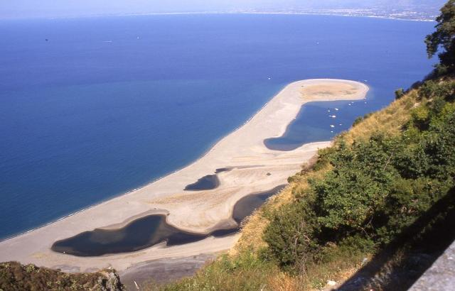 La spiaggia di Marinella - Tindari