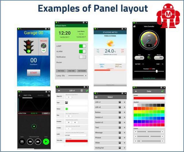 """µPanel: App, Cloud e Moduli wireless per l'IoT"" - Valguarnera Caropepe (EN)   Maker Faire Rome"
