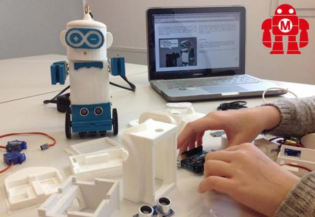 """Mr.Arduino (Robot open source da stampare in 3D)"" - Rometta Marea (ME) 