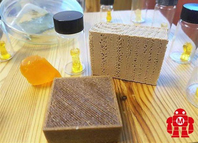 """""""Materiali naturali e innovativi per la stampa 3D"""" - Mazzarino (CL)   Maker Faire Rome"""