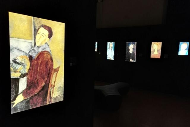 """Modigliani Multimedia Experience"""