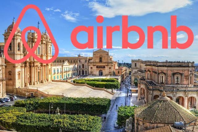 Tante le proposte Airbnb per il Val di Noto