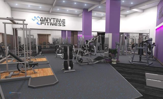 Una palestra Anytime Fitness