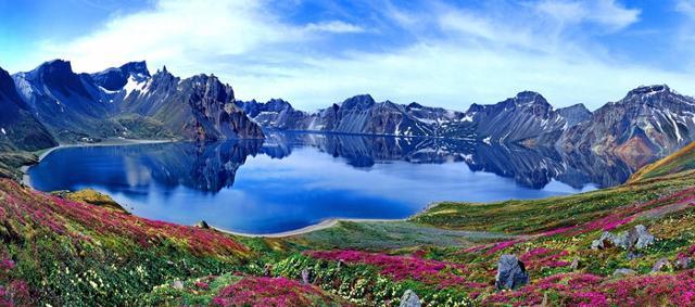 Il Parco di Changbai Shan si trova in una catena montuosa situata nell'Estremo Oriente, che corre lungo il confine settentrionale tra Cina e Corea del Nord