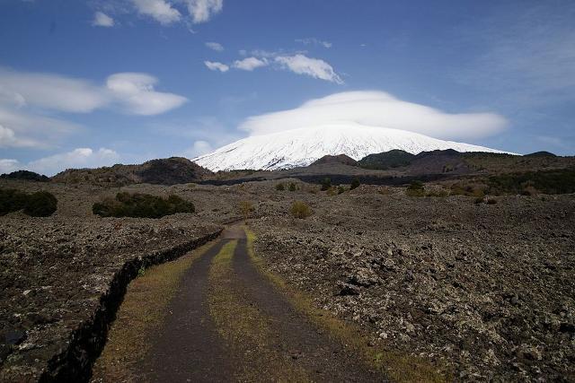 Una percorso del Parco dell'Etna ricadente nel territorio di Bronte