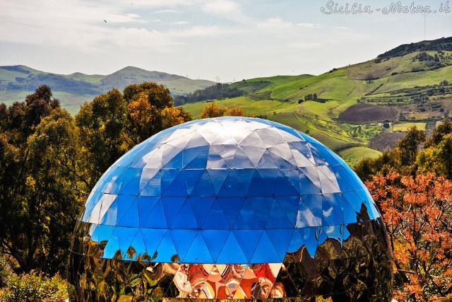 La cupola del Planetario di Roccapalumba