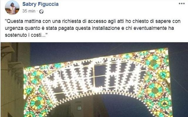 L'indignato post del consigliere comunale di Palermo, Sabrina Figuccia