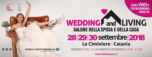 Wedding and Living 2018: a Catania la fiera del ''matrimonio perfetto''