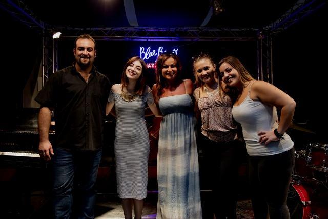 Alcuni degli insegnanti della Scuola Popolare di Musica - The Brass Group