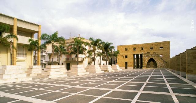 Il sistema delle piazze di Gibellina progettato da Franco Purini e Laura Thermes