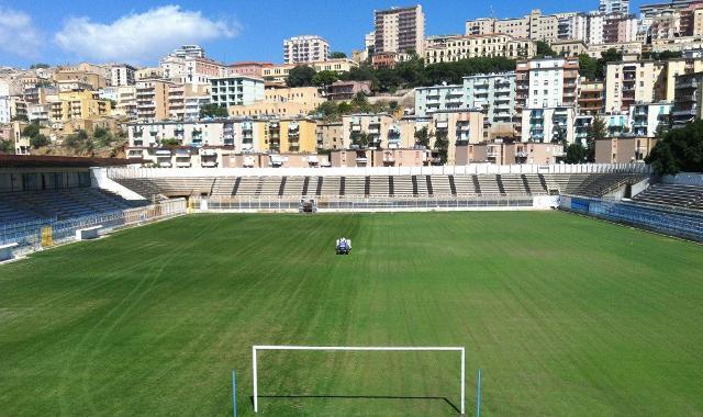 """Lo stadio comunale """"Esseneto"""" di Agrigento"""