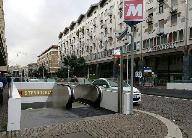 Stazione metropolitana in Piazza Stesicoro, Catania - ph Klabr
