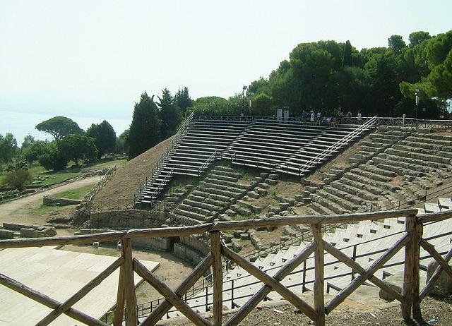 Il Teatro Greco di Tindari