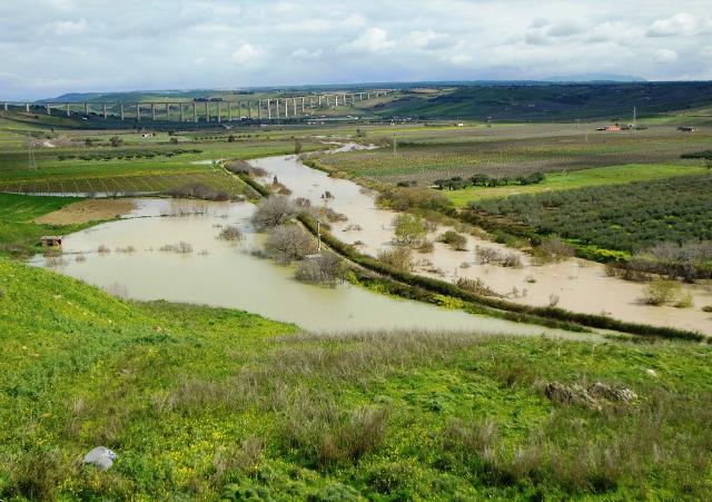 Un tratto del fiume Belìce