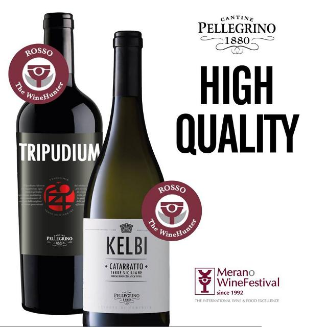 L'Award Rosso è stato assegnato al Kelbi Catarratto 2017 e al Tripudium 2014