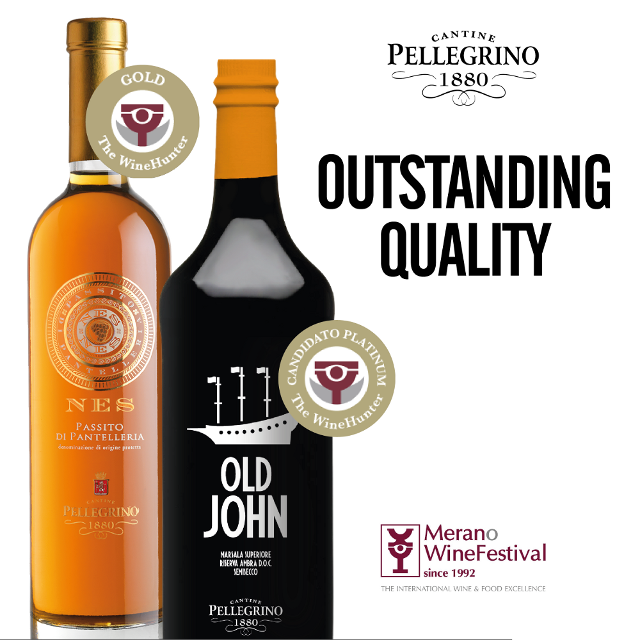 Il Nes Passito di Pantelleria DOC annata 2016 ha ricevuto l'Award Oro, mentre l'Old John Marsala Superiore Riserva DOC 1998 è Candidato Platinum, ma occorre attendere il 31 ottobre per scoprire i vincitori del prestigioso premio