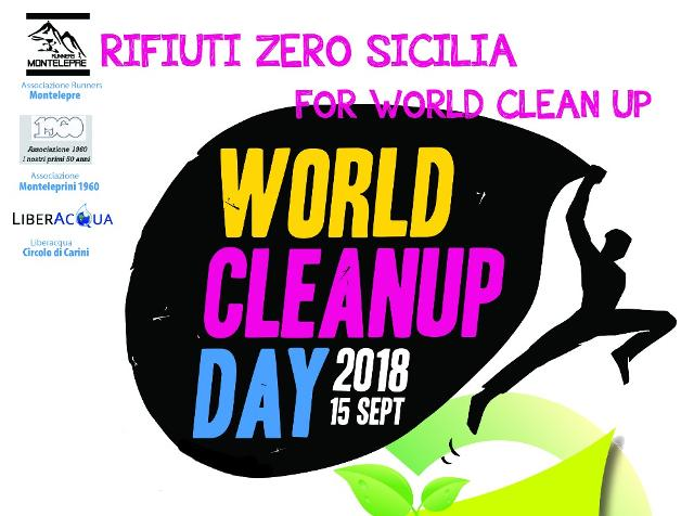 Raccolti oltre 1000 kg di rifiuti al ''Rifiuti Zero Sicilia for World CleanUp Day 2018''