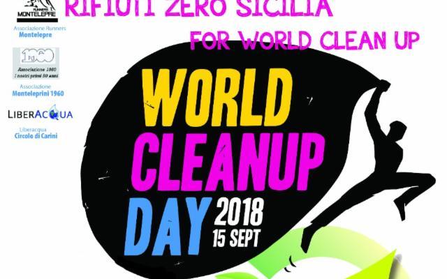 Raccolti oltre 1000 kg di rifiuti al ''Rifiuti Zero Sicilia for World CleanUp Day 2018''