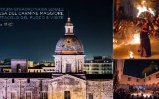 """Visite serali alla Chiesa del Carmine Maggiore e concerto """"Sulle Orme dei Suoni"""""""