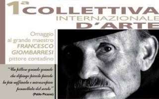 Collettiva Internazionale d'arte dedicata al pittore contadino 'Francesco Giombarresi'