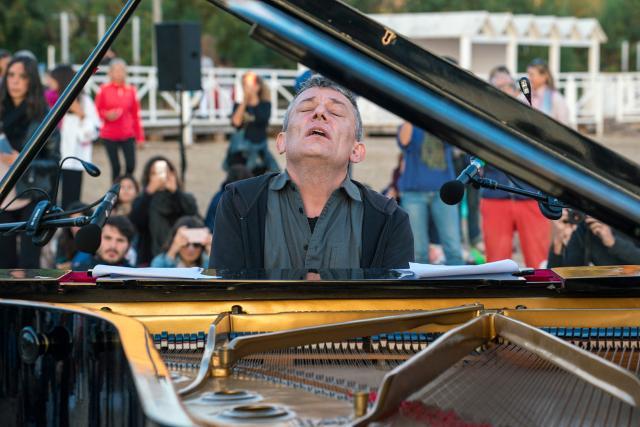 Marino Formenti a Mondello per Piano City Palermo 2018