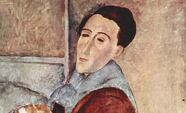 Amedeo Modigliani, Autoritratto del 1909
