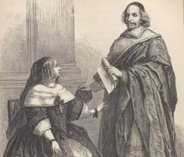 Anna d'Austria e il cardinale Mazzarino