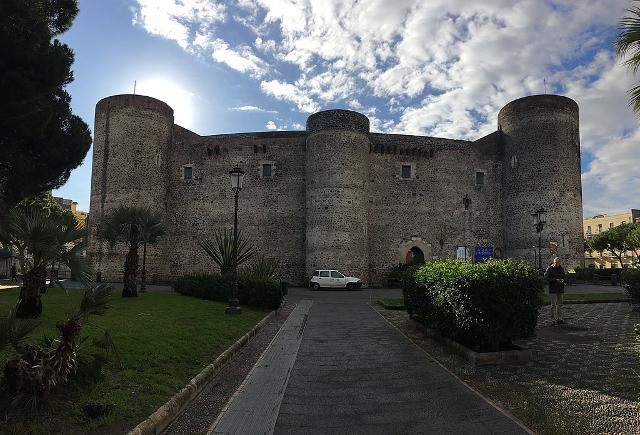 Il Castello Ursino di Catania in una foto di Francesco Lombardi