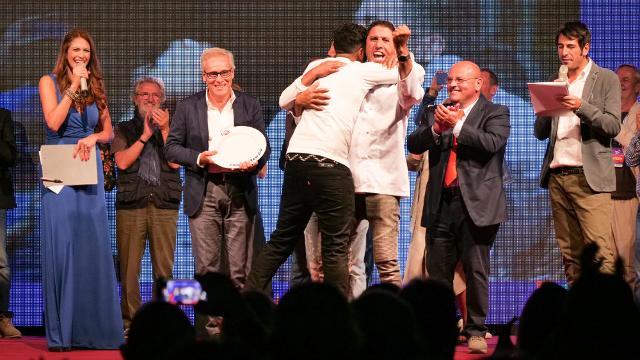 Lo chef tunisino Nabil Bakouss vincitore del premio giuria tecnica dell'edizione 2018