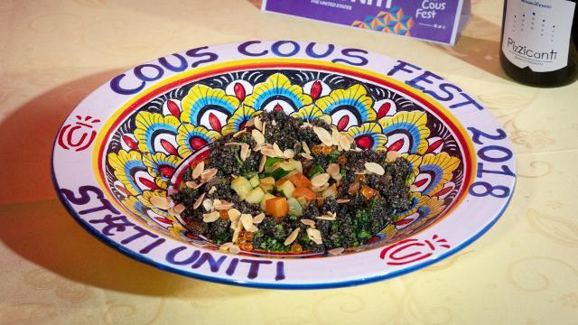 Al piatto degli Stati Uniti, rappresentati dallo chef Marc Murphy, è andato il Premio Salute e benessere