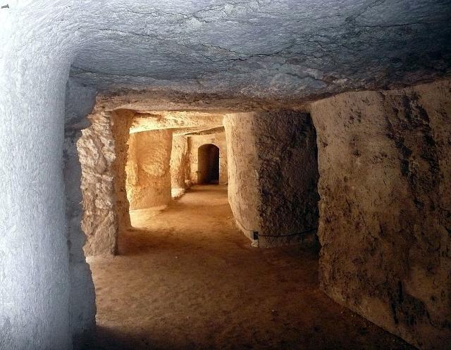 Gallerie sotterranee del castello Eurialo