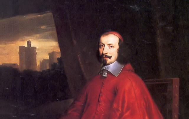 Il Cardinale Giulio Mazzarino in un ritratto di Philippe de Champaigne