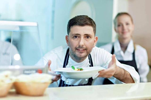 Lo chef stellato Pietro D'Agostino