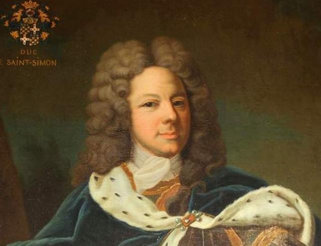 Ritratto di Louis de Rouvroy, duca di Saint-Simon - Opera di Jean-Baptiste van Loo