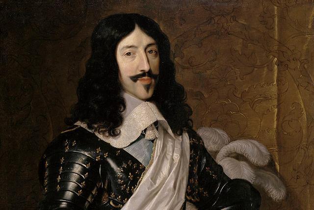 Luigi XIII, re di Francia (ritratto di Philippe de Champaigne)