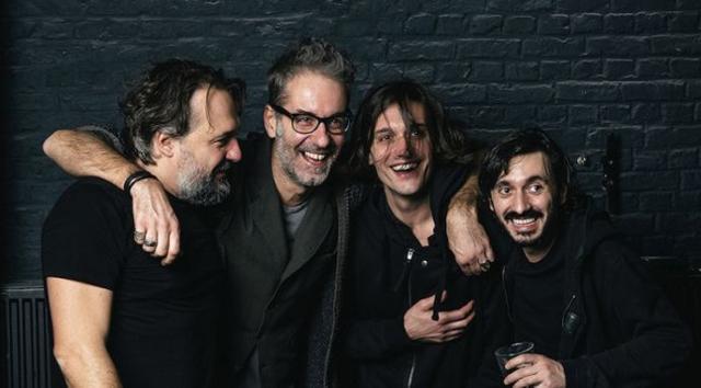 Nella foto da sinistra: i MASBEDO, Davide Tomat e GUP Alcaro - ph. Alex Astegiano