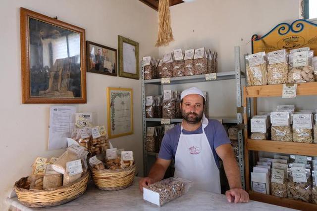 Il fornaio Maurizio Spinello