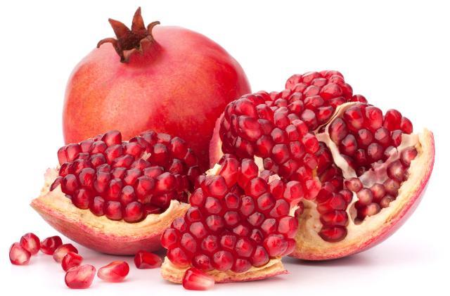 Il succo di melograno ha una capacità antiossidante tre volte maggiore di quella del vino rosso e del tè e offre protezione nei confronti dei disturbi cardio-vascolari...