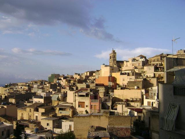 Mineo, vista sul quartiere San Pietro